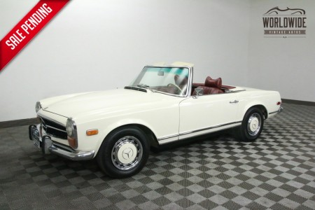 1970 MERCEDES 280SL ROADSTER. TWO TOPS. STUNNING! RARE!