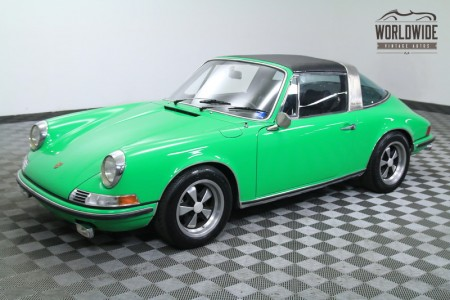 1969 PORSCHE 911E TARGA	RESTORED. RARE. CERTIFICATE OF AUTHENTICITY