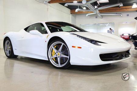 2012 Ferrari 458 Italia 2dr Cpe
