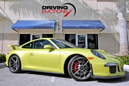 2015 PORSCHE 911 GT3 GT3