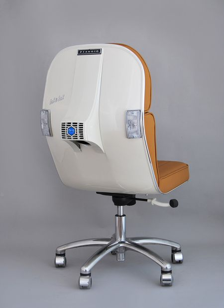 BEL&BEL SCOOTER CHAIR New Edition- White & Beige