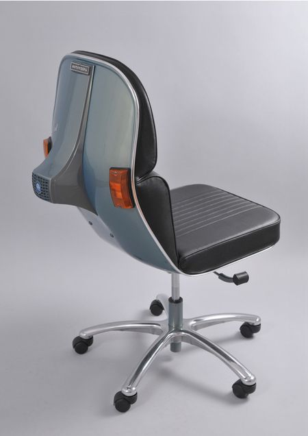 BEL&BEL SCOOTER CHAIR New Edition- Gray & Black