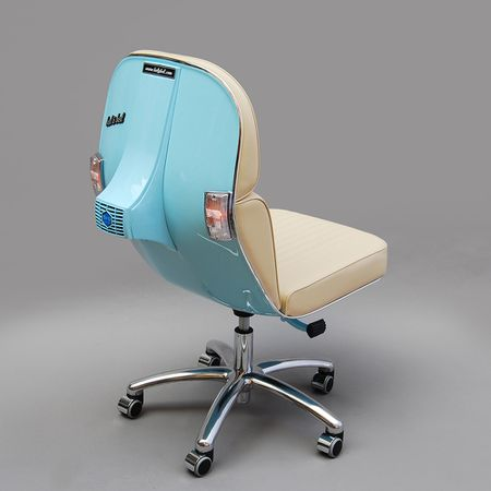 BEL&BEL SCOOTER CHAIR New Edition- Powder Blue & White