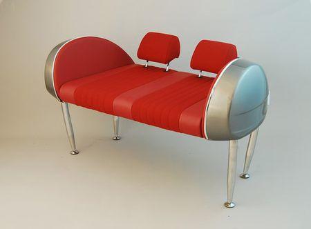 SPIDER SIDE PANELS SEATS Custom seats
