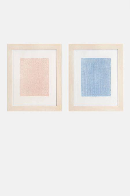 Schellmann Art - Rosemarie Trockel, Falling Blue, Rising Red, 1998