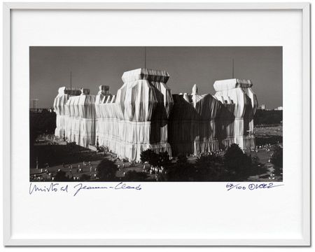Christo and Jeanne-Claude. Reichstag Edition of 100