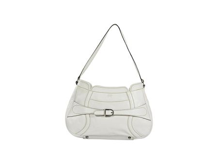 White Anya Hindmarch Leather Hobo Bag