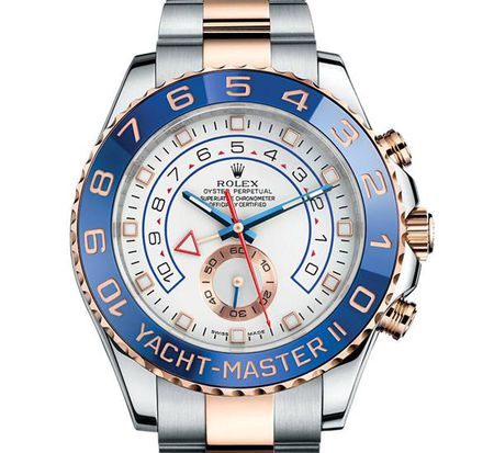 Rolex Yacht-Master II 116681 Two-Toned 18k Pink Gold and Steel