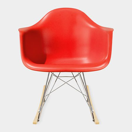 Eames® Molded Plastic Armchair With Rocking Base (RAR)