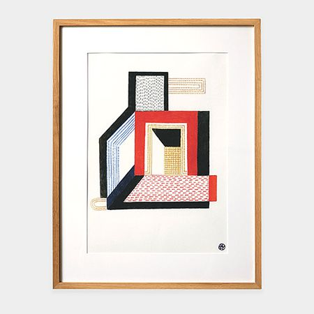 Nathalie Du Pasquier: Door Limited Edition Framed Print