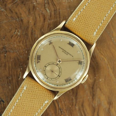 18k Rose Gold Vacheron & Constantin Dress Watch