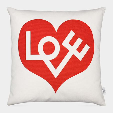 Alexander Girard Love Pillow