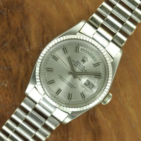 18k White Gold Rolex Day-Date Ref. 1803