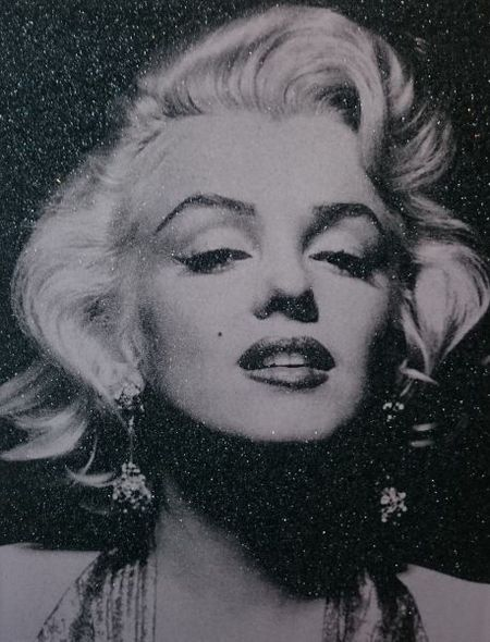 Portrait of Marilyn (White)