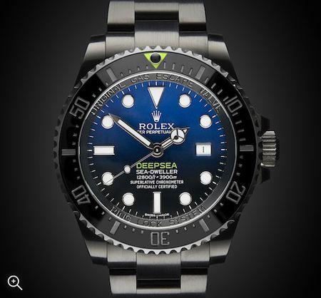 Rolex Deep Sea: Deep Blue