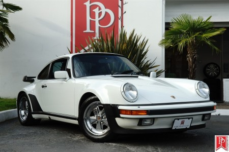 1987 PORSCHE 911 - 930 TURBO COUPE