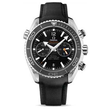 Omega Seamaster Planet Ocean 600 M Co-Axial Chronograph 45.5 mm - Stainless Steel - Rubber Strap