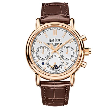 Patek Philippe Men's Grand Complications Rose Gold Split-Seconds Chronograph 5204R-001