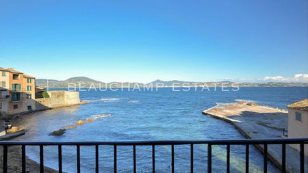 Rare waterfront town house Saint Tropez