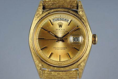 1966 ROLEX YG DAY-DATE 1806 WITH MORELLIS FINISH