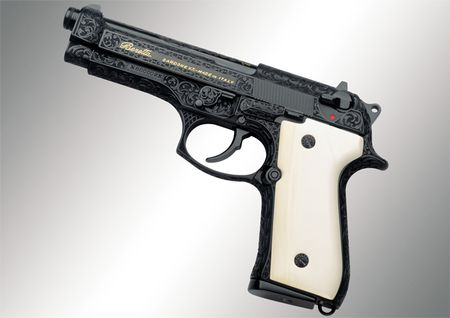 92fs Limited Edition Pistols Engraving Ivory
