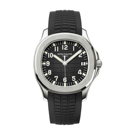 Patek Philippe Stainless Steel Rubber Strap Aquanaut