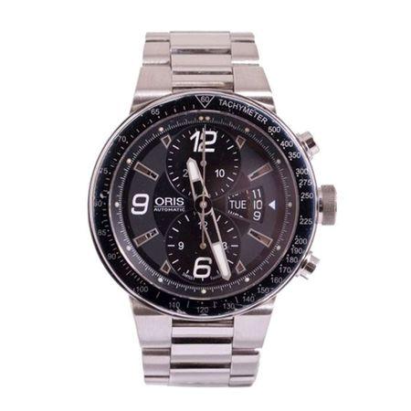 Gentlemen's Oris Williams F1 Team Automatic Chronograph Black Dial Bracelet Watch