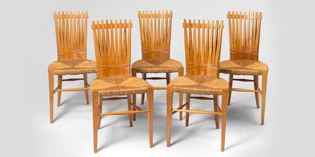 Set of 5 chairs, circa 1947