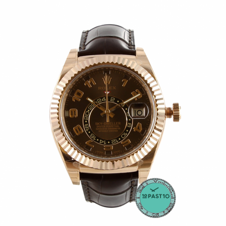 ROLEX SKY-DWELLER CHOCOLATE ARAB