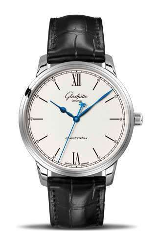 GLASHUTTE ORIGINAL SENATOR EXCELLENCE STAINLESS STEEL 1-36-59-01-02-01