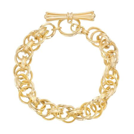 Betteridge Collection ​18k Yellow Gold Triple Cable Bracelet