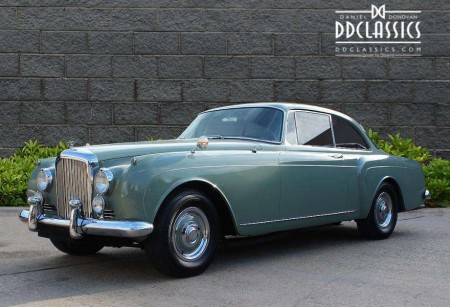 BENTLEY S2 CONTINENTAL H.J MULLINER 2-DOOR RHD