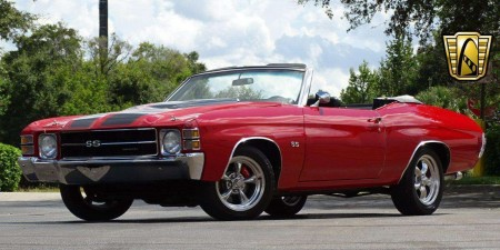 1971 Chevrolet Chevelle SS 350 CID V8 350 Automatic