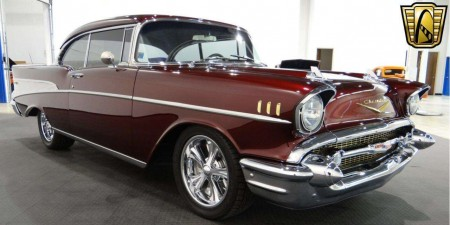 1957 Chevrolet Bel Air 461 CID V8 700r4 4-Speed Automatic
