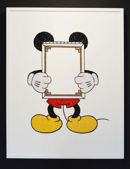 Mickey with Frame