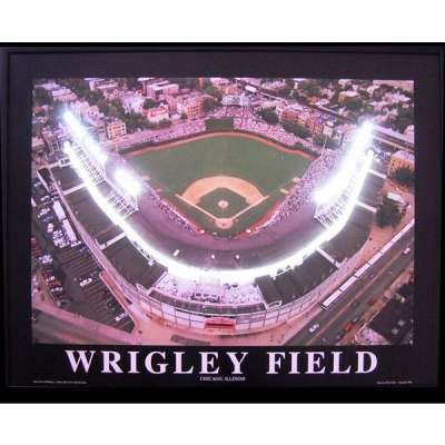 Wrigley Field Chicago Cubs Baseball Neon LED Sign