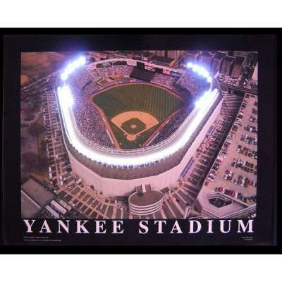 Yankee Stadium New York Baseball Neon LED Sign