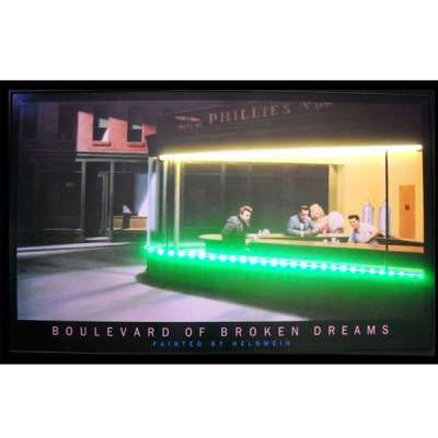 Boulevard of Broken Dreams Diner Neon LED Sign