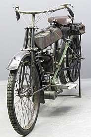 New Hudson 1913 350cc 1 cyl sv 2611