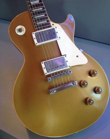 1957 Gibson Les Paul Standard Goldtop Guitar