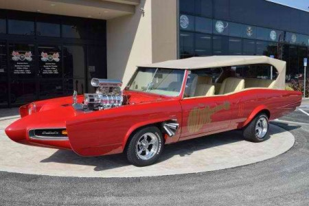 1967 Z MOVIE CAR THE MONKEES MOBILE CUSTOM GTO