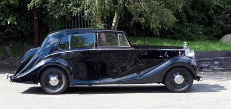 1947 Rolls-Royce Silver Wraith Hooper Touring Limousine