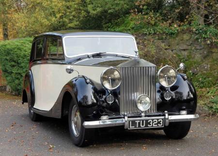 1949 Rolls-Royce Silver Wraith Hooper \'Teviot\' Touring Limousine