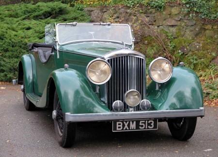 1935 Bentley 3 1/2 Litre \'Cutaway Door\' Open Tourer