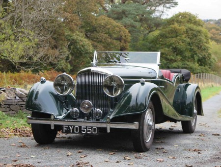 1940 Bentley 4 1/4 Litre Overdrive Vanden Plas style Tourer