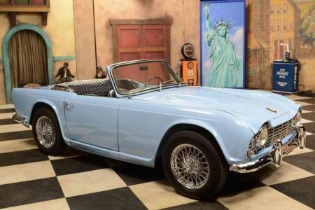 1961 Triumph TR-4 Convertible
