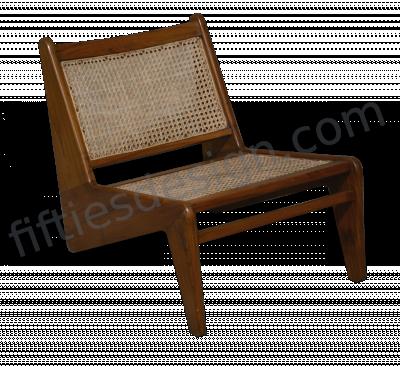 Pierre Jeanneret Rare Pair of Kangaroo Chair