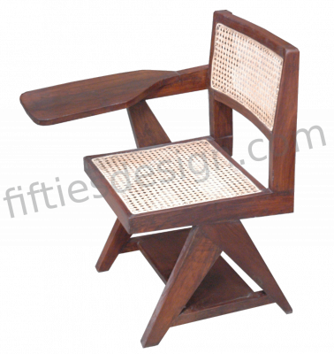 Pierre Jeanneret Writing Cane Chair
