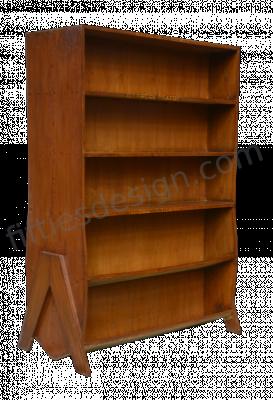 Pierre Jeanneret Double Sided Bookcase