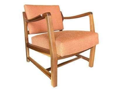 Pivot Back Armchair by Edward Wormley for Dunbar